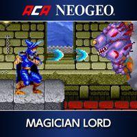 Portada oficial de NeoGeo Magician Lord para PS4