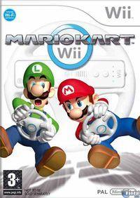 Portada oficial de Mario Kart Wii para Wii