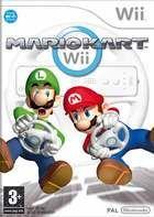Portada oficial de de Mario Kart Wii para Wii