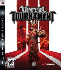 Portada oficial de Unreal Tournament 3 para PS3