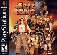 Portada oficial de Metal Slug X para PS One