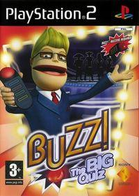 Portada oficial de Buzz: The Big Quiz para PS2