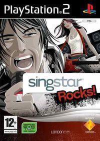 Portada oficial de Singstar Rocks para PS2