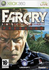Portada oficial de Far Cry Instincts Predator para Xbox 360