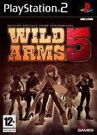 Portada oficial de de Wild Arms 5 para PS2