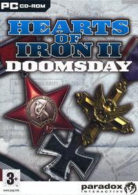 Portada oficial de Hearts of Iron 2 Doomsday para PC