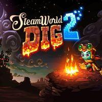 Portada oficial de SteamWorld Dig 2 PSN para PSVITA