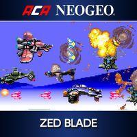 Portada oficial de NeoGeo Zed Blade para PS4