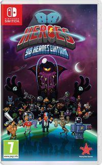 Portada oficial de 88 Heroes - 98 Heroes Edition para Switch