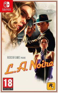 Portada oficial de L.A. Noire para Switch