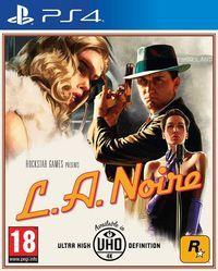 Portada oficial de L.A. Noire para PS4