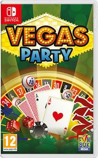 Portada oficial de Vegas Party para Switch
