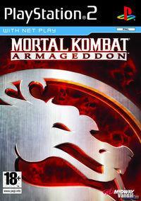 Portada oficial de Mortal Kombat Armageddon para PS2