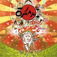 Portada oficial de Okami HD para PS4