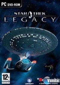 Portada oficial de Star Trek Legacy para PC
