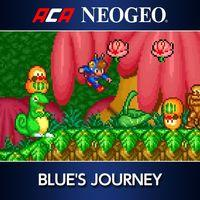 Portada oficial de NeoGeo Blue's Journey para PS4