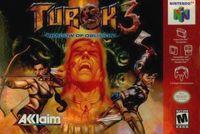 Portada oficial de Turok 3 para Nintendo 64