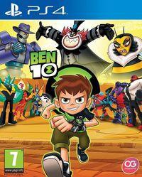 Portada oficial de Ben 10 para PS4