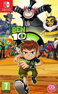 Portada oficial de Ben 10 para Switch