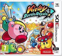 Portada oficial de Kirby Battle Royale para Nintendo 3DS