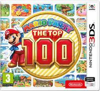 Portada oficial de Mario Party: The Top 100 para Nintendo 3DS