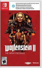 Portada oficial de de Wolfenstein II: The New Colossus para Switch