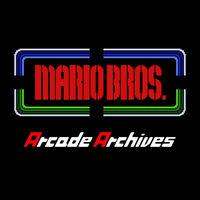 Portada oficial de Arcade Archives: Mario Bros. para Switch