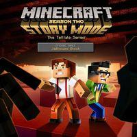 Portada oficial de Minecraft: Story Mode - Season Two - Episode 3: Jailhouse Block para PS4