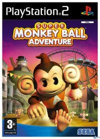 Portada oficial de Super Monkey Ball Adventure para PS2