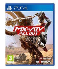 Portada oficial de MX vs ATV All Out para PS4