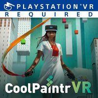 Portada oficial de CoolPaintr VR para PS4