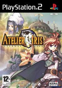 Portada oficial de Atelier Iris: Eternal Mana para PS2