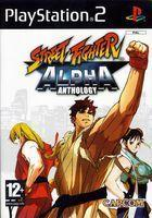 Portada oficial de de Street Fighter Alpha Anthology para PS2