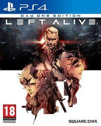Portada oficial de Left Alive para PS4
