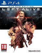 Portada oficial de de Left Alive para PS4