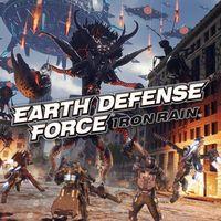 Portada oficial de Earth Defense Force: Iron Rain para PS4