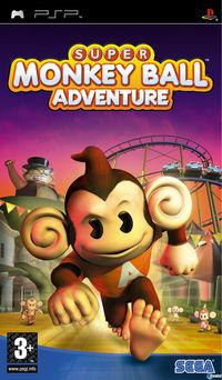 Portada oficial de Super Monkey Ball Adventure para PSP