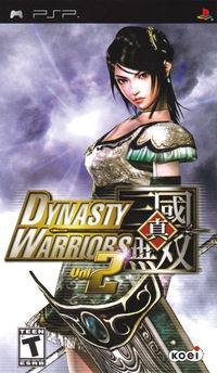 Portada oficial de Dynasty Warriors 2nd Evolution para PSP