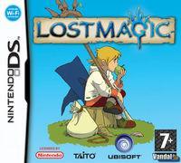 Portada oficial de Lost Magic para NDS