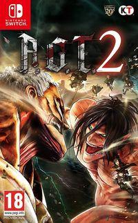 Portada oficial de Attack on Titan 2 para Switch