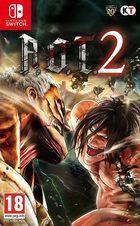 Portada oficial de de Attack on Titan 2 para Switch