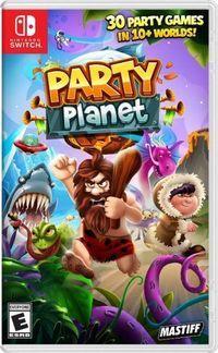 Portada oficial de Party Planet para Switch