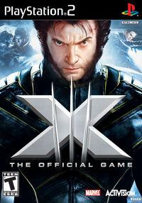 Portada oficial de X-Men: El Juego Oficial para PS2
