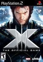 Portada oficial de de X-Men: El Juego Oficial para PS2