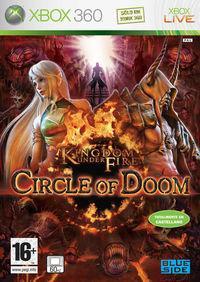 Portada oficial de Kingdom Under Fire: Circle of Doom para Xbox 360