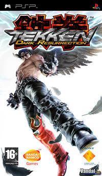 Portada oficial de Tekken: Dark Resurrection para PSP