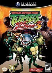 Portada oficial de Teenage Mutant Ninja Turtles 3 para GameCube