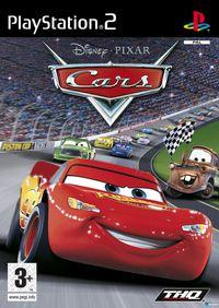 Portada oficial de Cars para PS2