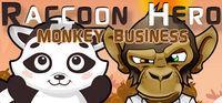 Portada oficial de Raccoon Hero: Monkey Business para PC