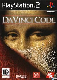Portada oficial de El Código Da Vinci para PS2